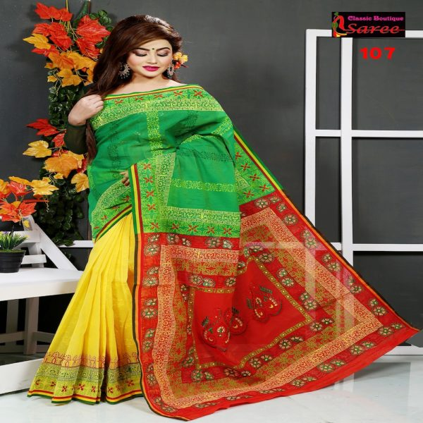 3 shed andy silk saree